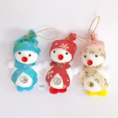 Combo 3 người tuyết nhỏ cao 10cm trang trí giáng sinh – Noel