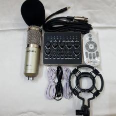 COMBO THU ÂM LIVETREAM MIC BM900,SOUND CARD V10 BH 6 THÁNG ĐỔI MỚI