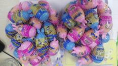 Combo 10 quả trứng kẹo sôcôla hình các chú thỏ ngộ nghĩnh cho bé