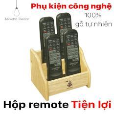 Chỗ nào bán Hộp gỗ đựng remote, đựng vật dụng mini tiện lợi