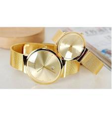 Đồng hồ cặp dây thép không gỉ Julius J1052 (Vàng)
