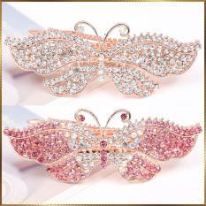 Kẹp tóc bướm đính kim cương KB27