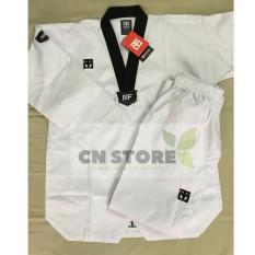 Quần Áo Võ _ Võ Phục Taekwondo Mooto Cổ Đen Nhập Khẩu Giá Tốt