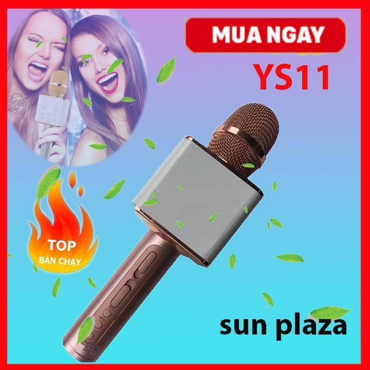 ( Loại 1 ) Micro Karaoke Loa YS-11 3in1 Mic Kara + Loa + Bluetooth Tặng Máy Nghe Nhạc Mp3 Cao Cấp