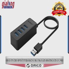 Bộ chia USB Hub 4 cổng USB 3.0 W5P-U3-30-BK – Hàng phân phối chính hãng