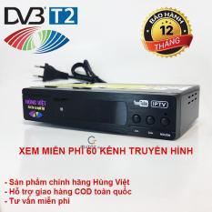 Đầu thu kỹ thuật số DVB T2 HÙNG VIỆT TS-123 Internet có thể xem Youtube