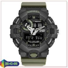 Đồng hồ nam thể thao SMAEL 1642 dây cao su