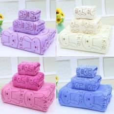 Bộ 3 Khăn tắm – Khăn lau – Khăn mặt mền mịn