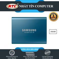 Ổ cứng di động SSD External Samsung T5 250GB – USB 3.1 Gen 2 (Xanh)