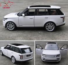Xe mô hình sắt – Mô hình xe Land Rover Range Rover tỉ lệ 1:24 ( Trắng )