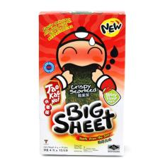 Combo 2 Gói Snack Rong biển Taokaenoi Sấy Big Sheet vị Cay 4g