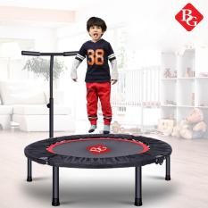 B&G 40-Inch Bounce Fit Foldable Trampoline With Armrest