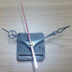Bộ kim đen 9cm và Máy Kim giật – Máy đồng hồ treo tường Đài Loan loại tốt