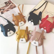 Túi đeo chéo hình chú thỏ đáng yêu cho bé gái