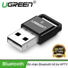 Thiết bị USB thu Bluetooth 4.0 dùng trên máy tính để bàn hoặc laptop UGREEN US192 30524 – Hãng phân phối chính thức