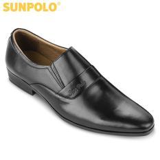 Giày Tây Nam Da Bò SUNPOLO SUMU234DN (Đen, Nâu)