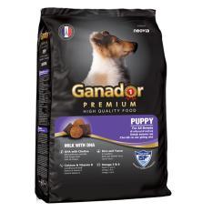 Thức ăn cho chó nhỏ có sữa và DHA giúp chó con thông minh – Thức ăn cho chó Ganador Puppy
