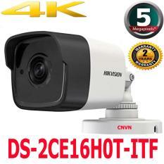 Camera giám sát thân hồng ngoại độ nét cao 4K 5MP siêu nét DS-2CE16H0T-ITF