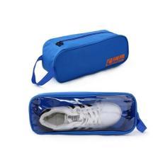 Túi đựng giày thể thao chống thấm có quai-xanh dương