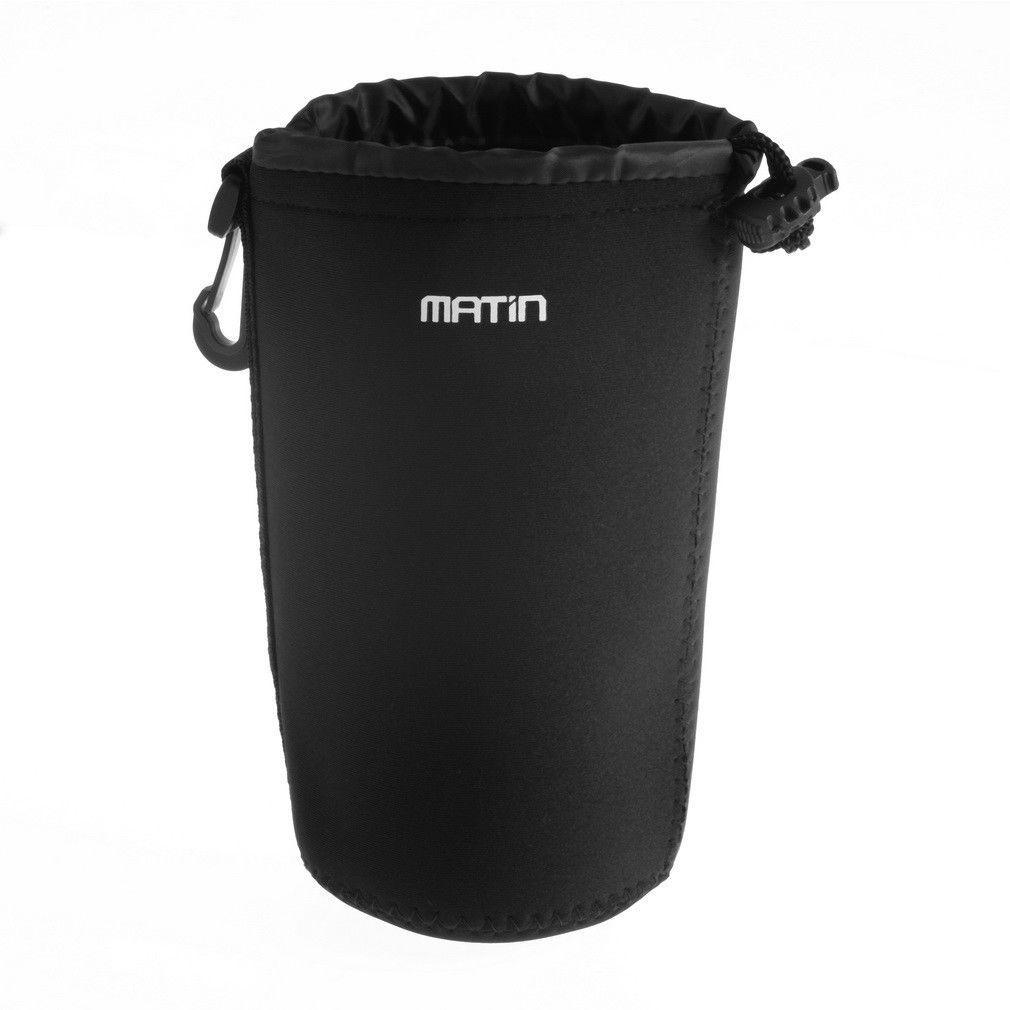 Túi đựng ống kính lens máy ảnh chống sốc Matin size L cao tối đa 16cm