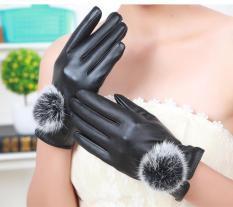Găng tay nữ da cảm ứng – hàng đẹp lót nỉ