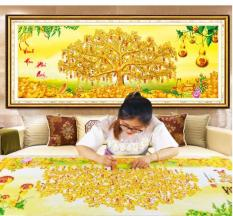 Tranh đính đá kim cương Vinh Hoa Phú Quý YN5193
