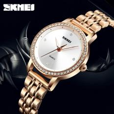 Đồng hồ nữ Skmei 1311 Dây thép không rỉ mẫu mới nhất trong năm của hãng DH0805
