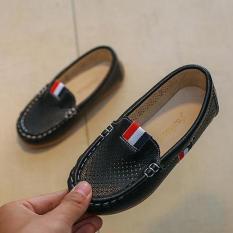 Giày lười bé trai chất liệu da cao cấp
