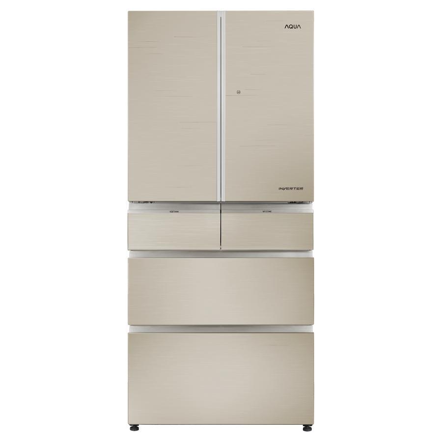 Tủ lạnh 6 cánh Aqua AQR-IG686AM(GC)