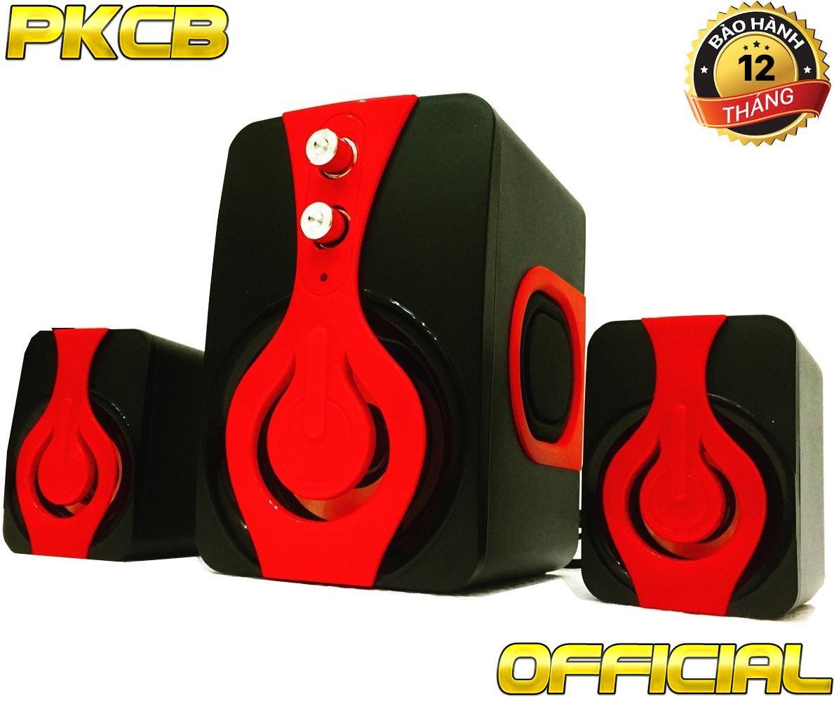Loa Nghe nhạc máy tính, điện thoại,tivi bass Ấm PKCB-2060 speakers [2018]
