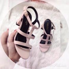Giày sandal cao gót MYS lưới 7p