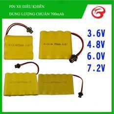 Pin Nikel-Cadmium cho xe điều khiển từ xa đủ loại (3,6V, 4,8V, 6V và 7,2V)