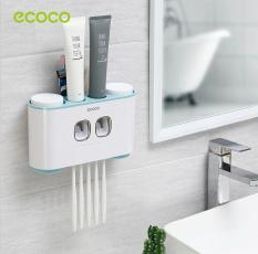 Bộ nhả kem đánh răng tự động 4 cốc cao cấp Ecoco sang trọng