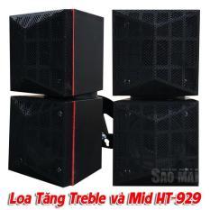 Bộ 4 loa , mỗi loa 1 trebe 1 trung , Thumper AT-929 (đen)