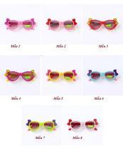 Mắt kính dễ thương (nơ xinh – chống tia UV)