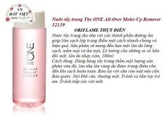 Nước tẩy trang The ONE All-Over Make-Up Remover 32139