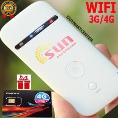 Thiết bị phát Wifi 3G 4G PKCB SUN MF65 Tốc Độ Cao – Chất Lương Nhật Bản – Tặng Siêu Sim Data Khủng
