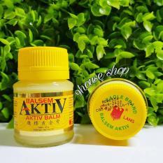 01 Dầu cù là vàng Balsem AKTIV (Indonesia)