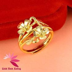 Nhẫn nữ mạ vàng 24k cao cấp Shinee Flower MK276