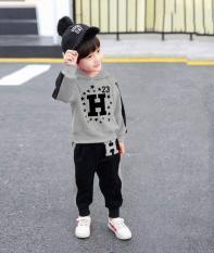 bộ đồ chữ H cho bé trai