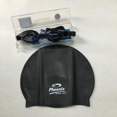 Bộ mắt kính bơi và nón bơi Phoenix