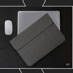 Bao da chống sốc cho macbook, laptop 13.3 inch kèm ví (Cho Macbook Air 2018/ Macbook Pro 2016, 2017, 2018)