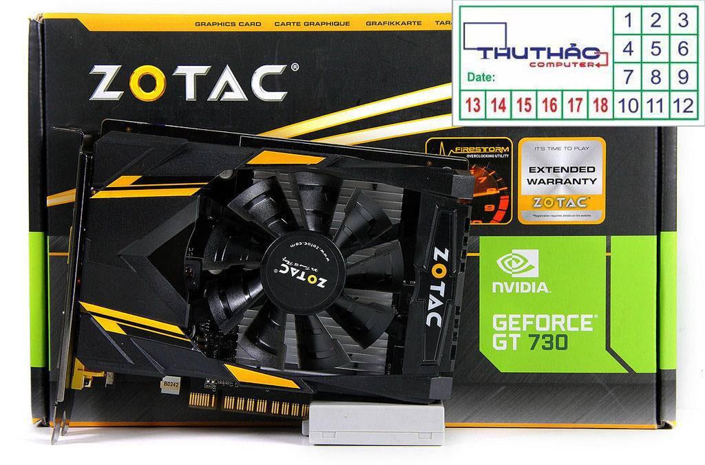 ZOTAC GT730 2G RAM5 Bảo hành 12 tháng