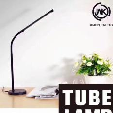 Đèn làm việc, đèn học công nghệ LED thiết kế cao cấp tích điện thông minh chống cận để bàn đa chức năng WK Design WT – L04