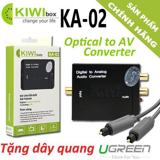 Giảm giá Bộ chuyển đổi Optical audio sang AV – Tặng dây Quang UGreen 300k