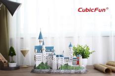 Mô hình giấy Cubic Fun lâu đài NEUSCHWANSTEIN (đèn) – L174h