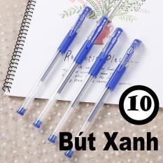 Combo 10 – 50 Bút Mực Nước Gel Tím Xanh Đỏ Đen Học Sinh Sinh Viên Legaxi