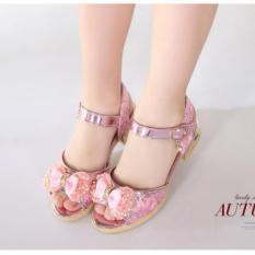Dép sandal công chúa bé gái 4-10 tuổi
