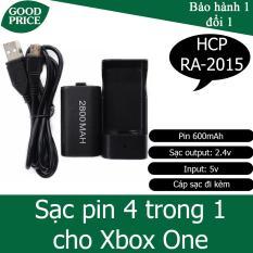 Bộ sạc kèm pin 4 trong 1 cho Xbox One – HPG RA-2015