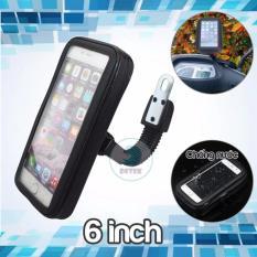 Giá đỡ chống nước K66 cho điện thoại từ 5.5 đến 6 inch trên xe máy
